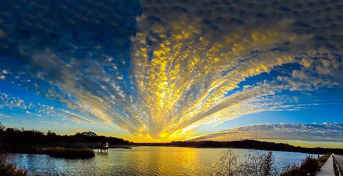 Terry Shoemaker - Sunrise panorama