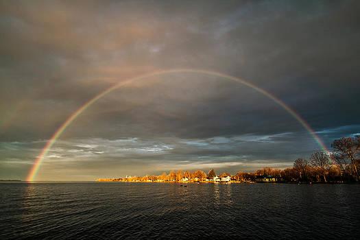 Sunrise Rainbow by Matt Molloy