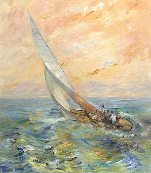 Sunrise Sailing by Theresa Grillo Laird