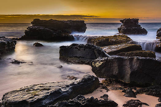 Sunrise Seascape by John Perez