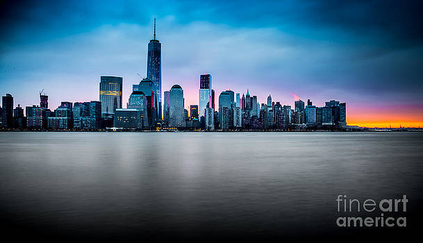 Sunrise Skyline by Jim DeLillo