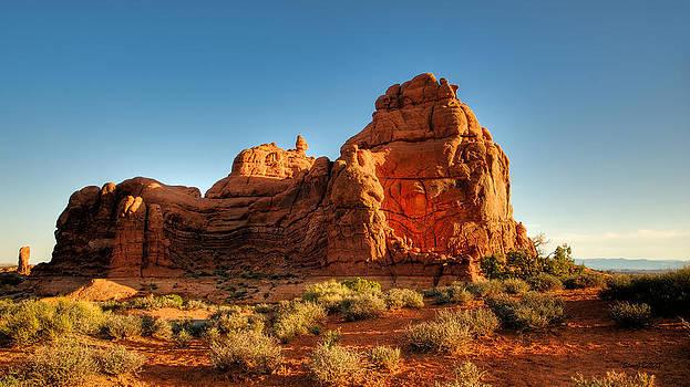 Sunrise Sphinx by Stephen  Johnson