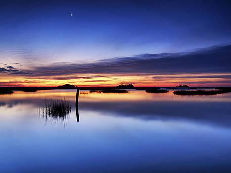 SUNRISE SUNSET ART PHOTO - SLIP SLIDIN' by Jo Ann Tomaselli by Jo Ann Tomaselli