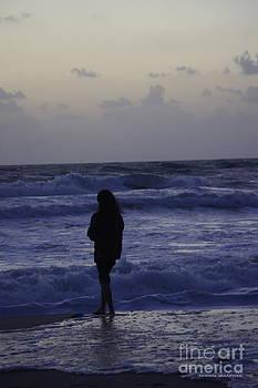 Tannis  Baldwin - Sunrise surf