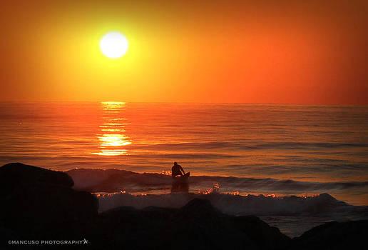 Sunrise Surfer by Phil Mancuso