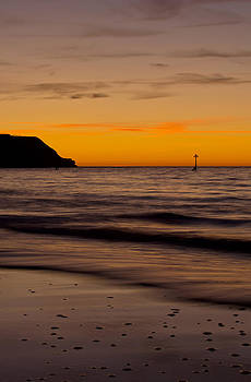 Sunrise Towards Orcombe Point at Exmouth by Pete Hemington