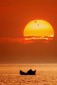 Sunrise with Venus on it by Alex Conu