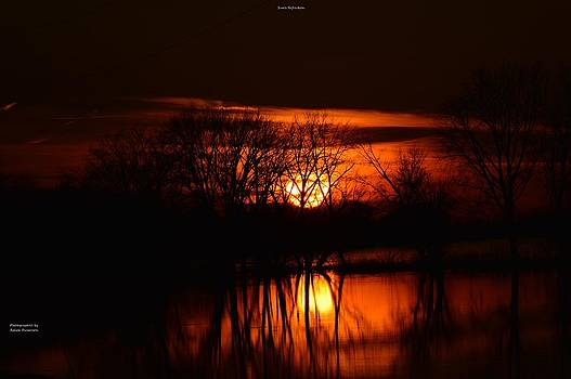 Sun's Reflection by Ralph Dickerson