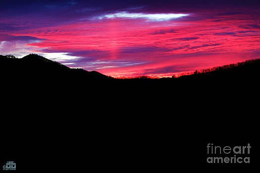 Sunset @ Great Smoky Mountains by Dheeraj B