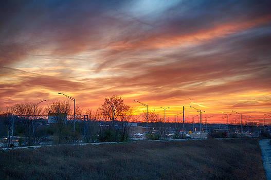Sunset 11-14-13 3 by Michael  Bennett