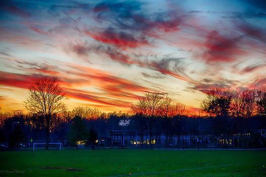 Sunset 11-19-13 003 by Michael  Bennett
