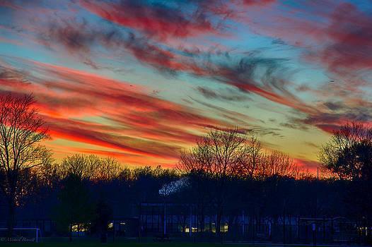 Sunset 11-19-13 2 by Michael  Bennett