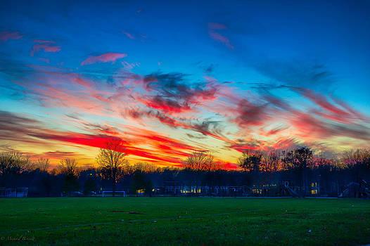 Sunset 11-19-13 by Michael  Bennett