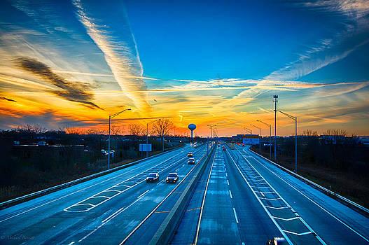 Sunset 11-22-13 001 by Michael  Bennett