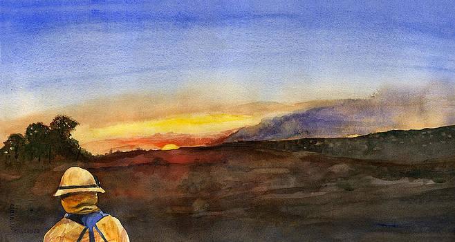 Brian Meyer - Sunset 18 Fires