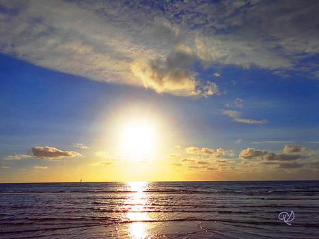 Sunset 2 by Ute Posegga-Rudel