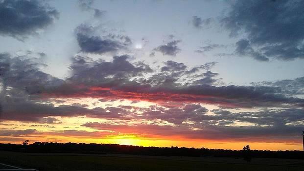 Sunset 3 by Gina Patton