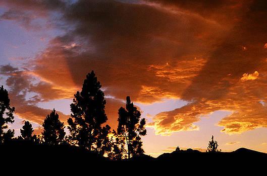 Bitterroot Valley Sunset by Jim Cotton