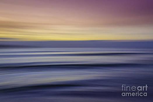 Sunset Abstract by Hans- Juergen Leschmann