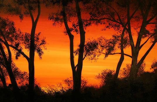 Sunset  by Alma Yamazaki