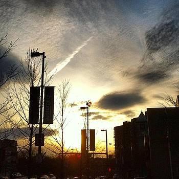 Sunset at Academic Center by Toni Martsoukos