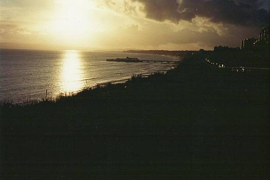 Sunset at Bournemouth  by Geoff Cooper