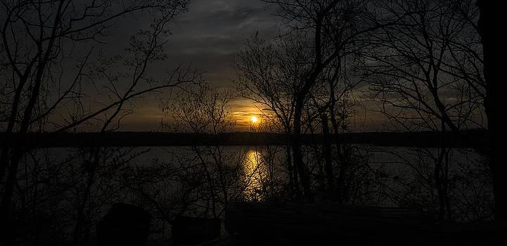 Sunset at Camp by Garett Gabriel