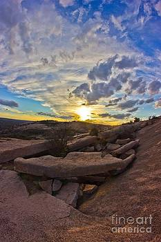 Michael Tidwell - Sunset at Enchanted Rock State Natural Area