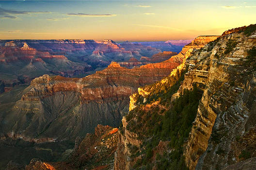 Ludmila Nayvelt - Sunset at Grand Canyon National Park