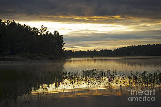 Elaine Mikkelstrup - Sunset at Grundy Lake Provincial Park