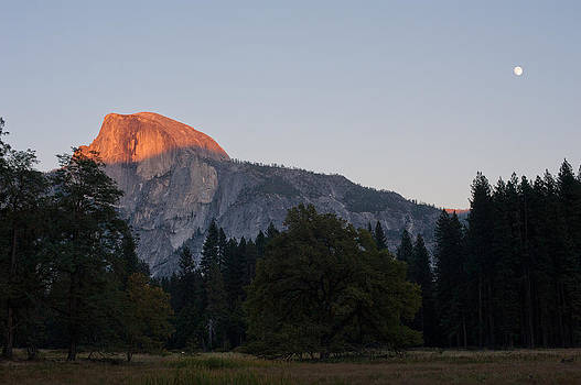 Sunset at Half Dome by Kate Livingston
