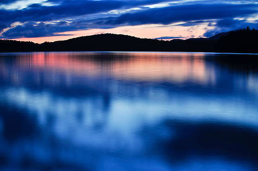 Sunset At Hoel Pond by Scott Slattery
