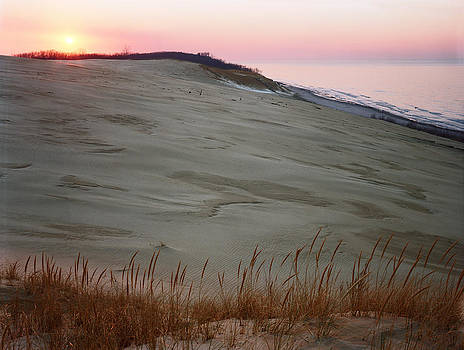 Sunset at Indiana Dunes by James Rasmusson