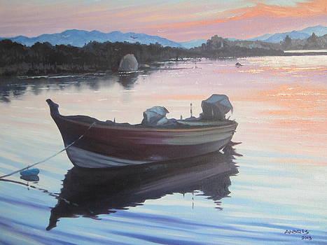 Sunset at Murta Maria by Andrei Attila Mezei