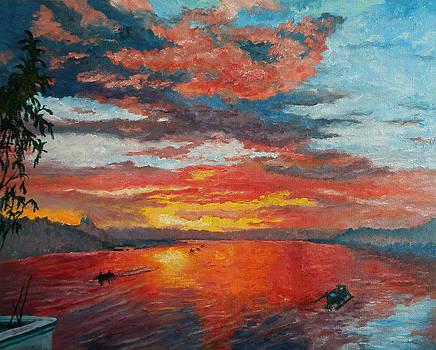 Sunset at Palalong by Michael Jadach