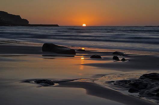 Sunset at Sennen by Pete Hemington