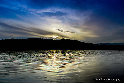 Sunset at south Tellico Lake by Paul Herrmann
