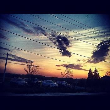 Sunset At Work by Kahsha Ward