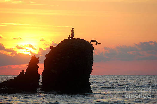 Sunset Backflip #1 by Stav Stavit Zagron