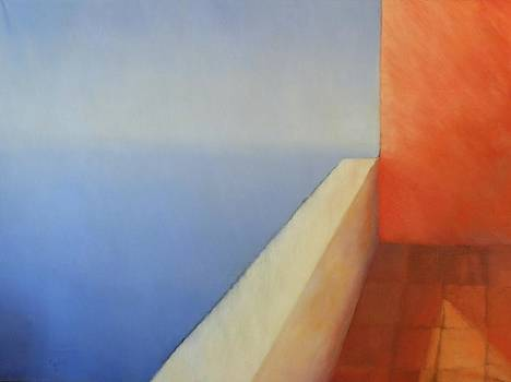 Sunset Balcony by Gloria Cigolini-DePietro