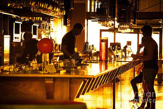 Sunset Bar by Ray Warren