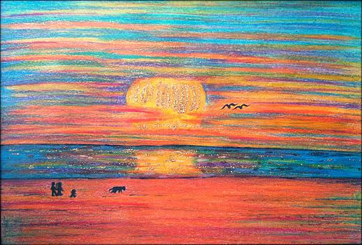Sunset  by Beril Sirmacek