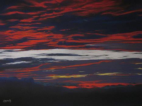 Sunset Blue by Harvey Rogosin