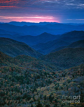 Sunset - Blue Ridge Parkway 2006 by Matthew Turlington