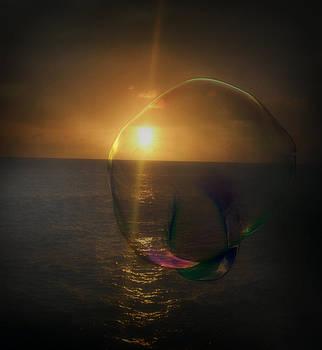 Sunset Bubble by Amanda Eberly-Kudamik