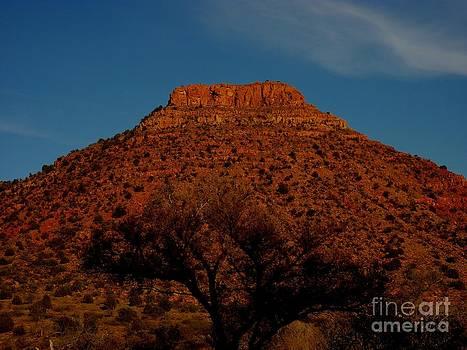 Sunset Butte by Katherine Karsten