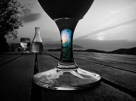 Sunset Cafe by Micki Findlay