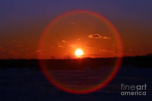 Sunset Circle by Kathy DesJardins