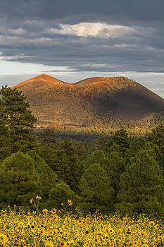 Sunset Crater by Tom Brownold