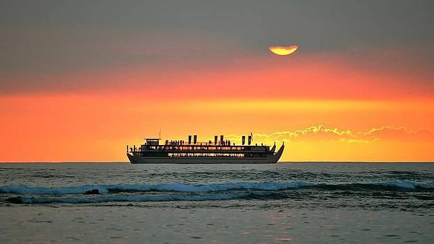 Sunset Cruise by John Perez
